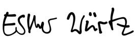 Unterschrift Esther 2